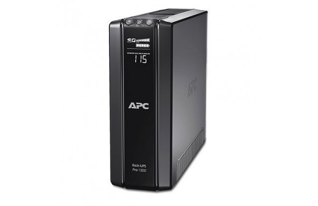ИБП APC Back-UPS Pro BR1200G-RS 720Вт 1200ВА черный
