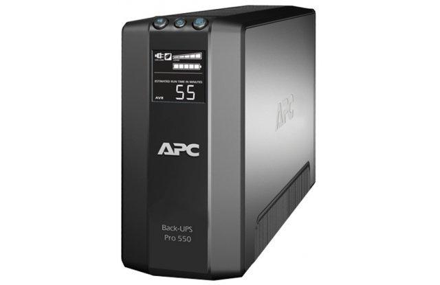 ИБП APC Back-UPS Pro BR550GI 330Вт 550ВА черный