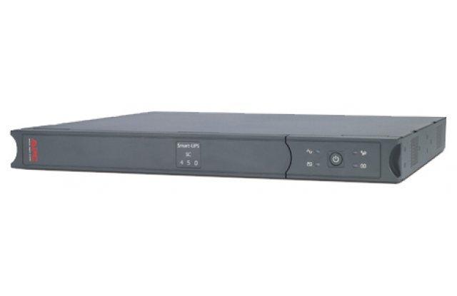 ИБП APC Smart-UPS SC SC450RMI1U 280Вт 450ВА черный