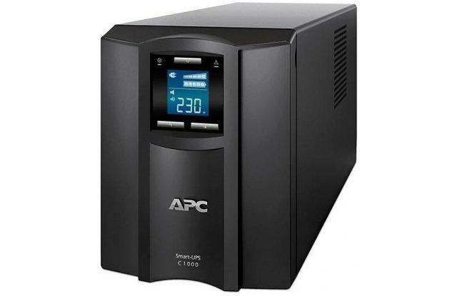 ИБП APC Smart-UPS C SMC1000I 600Вт 1000ВА черный