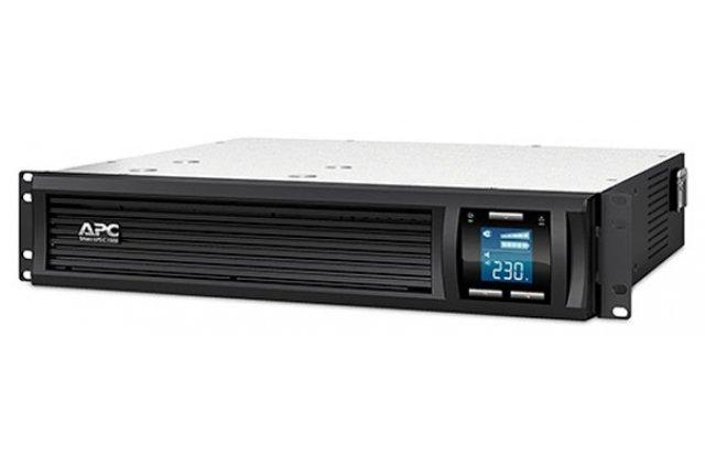 ИБП APC Smart-UPS C SMC1500I-2U 900Вт 1500ВА черный