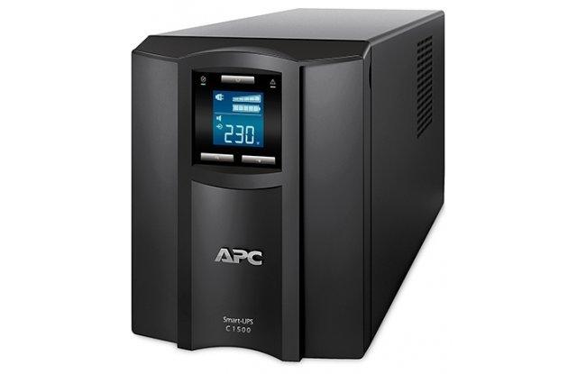 ИБП APC Smart-UPS C SMC1500I 900Вт 1500ВА черный