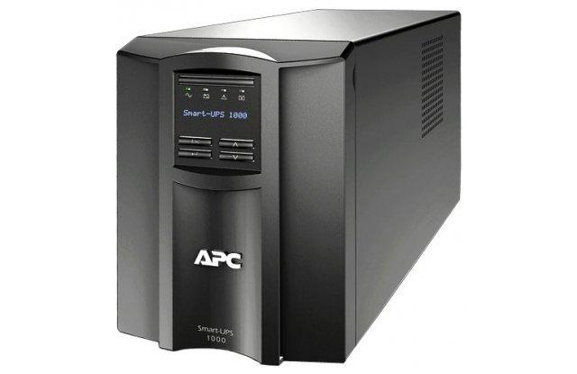 ИБП APC Smart-UPS SMT1000I 670Вт 1000ВА черный