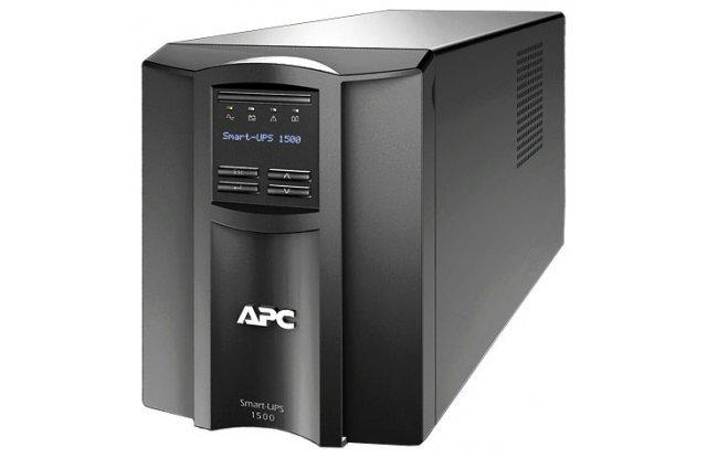 ИБП APC Smart-UPS SMT1500I 980Вт 1500ВА черный