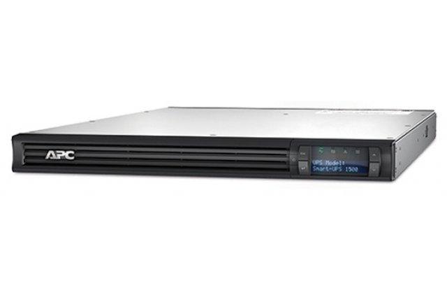 ИБП APC Smart-UPS SMT1500RMI1U 1000Вт 1500ВА черный