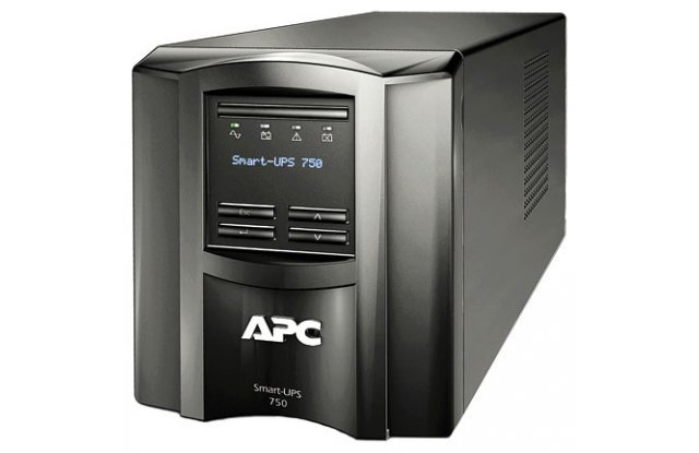 ИБП APC Smart-UPS SMT750I 500Вт 750ВА черный