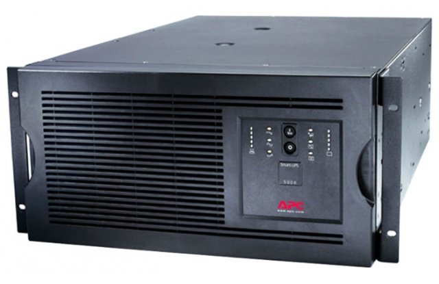 ИБП APC Smart-UPS SUA5000RMI5U 4000Вт 5000ВА черный