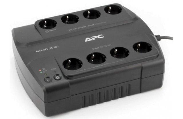 ИБП APC Back-UPS ES BE700G-RS 405Вт 700ВА черный