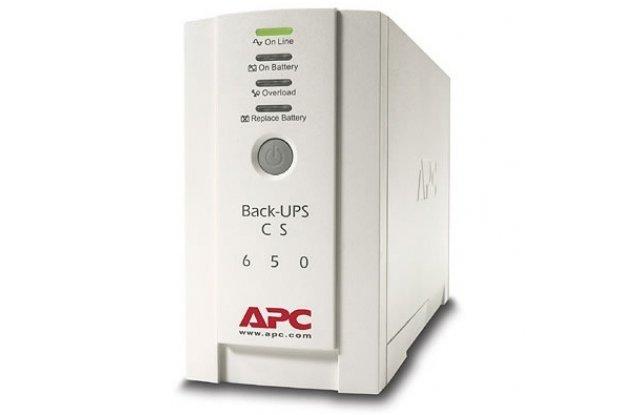 ИБП APC Back-UPS BK650EI 400Вт 650ВА белый