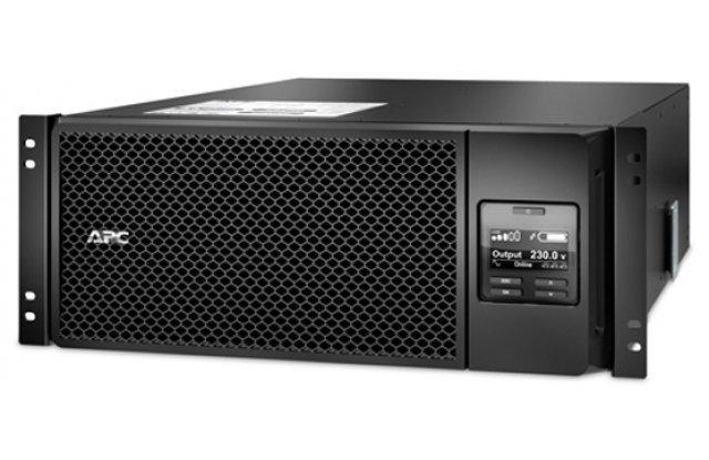 ИБП APC Smart-UPS SRT SRT6KRMXLI 6000Вт 6000ВА черный