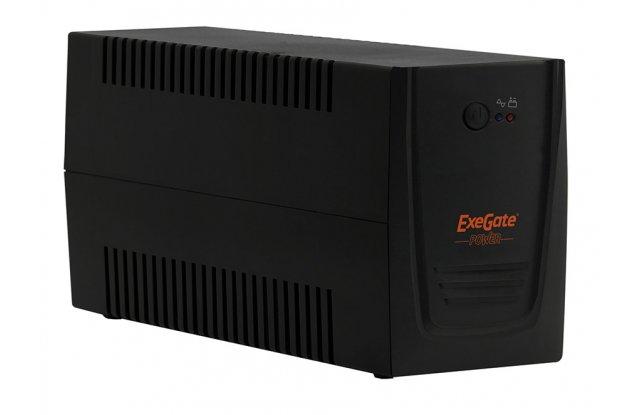 ИБП ExeGate Power Back BNB-600 360Вт 600ВА черный/красный