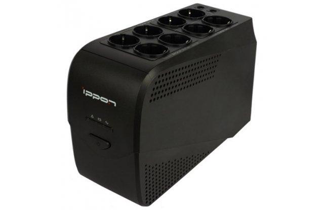 ИБП Ippon Back Comfo Pro 600 New 360Вт 600ВА черный