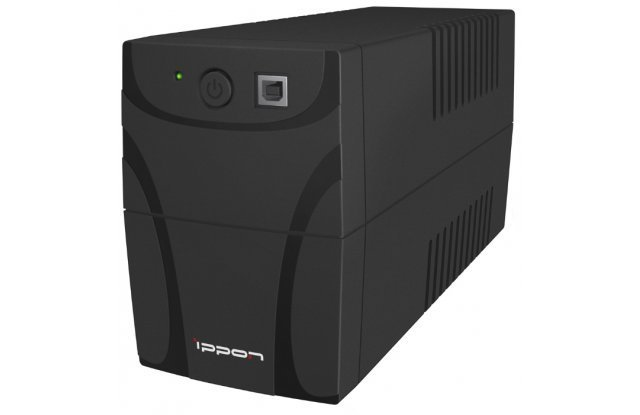 ИБП Ippon Back Power Pro 700 New 420Вт 700ВА черный