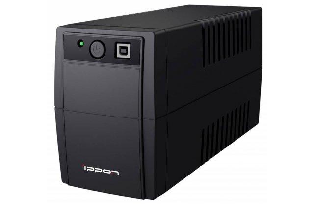 ИБП Ippon Back Basic 850 Euro 480Вт 850ВА черный