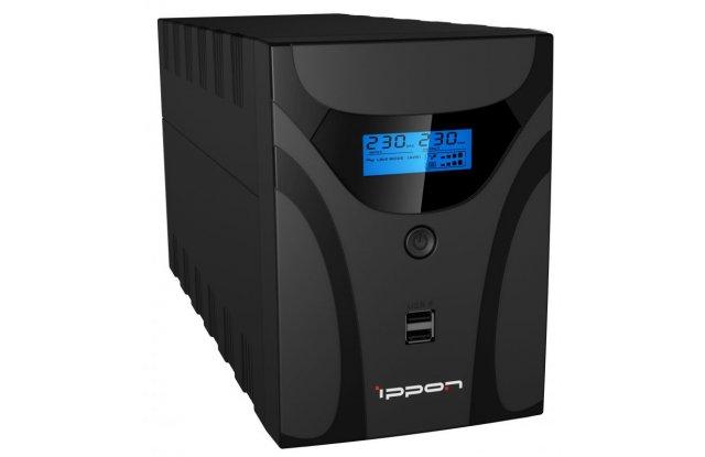 ИБП Ippon Smart Power Pro II 2200 1200Вт 2200ВА черный