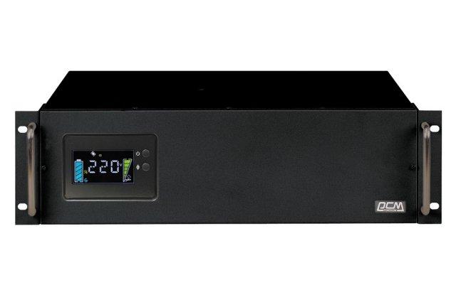 ИБП Powercom King Pro RM KIN-3000AP LCD 2400Вт 3000ВА черный