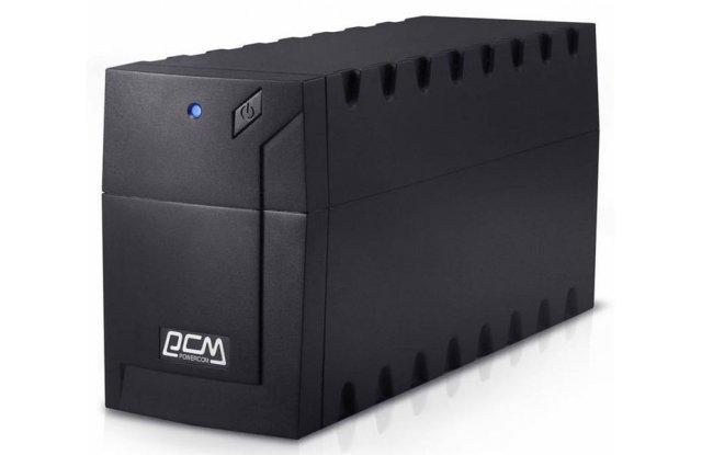 ИБП Powercom Raptor RPT-1000A Euro 600Вт 1000ВА черный