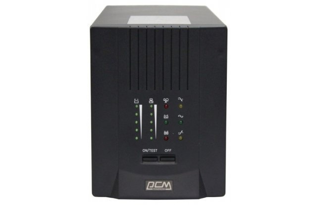 ИБП Powercom Smart King Pro SKP-3000A 1800Вт 3000ВА черный
