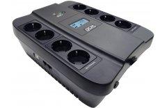 ИБП Powercom Spider SPD-900U LCD 540Вт 900ВА черный