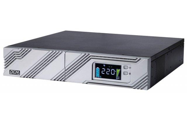ИБП Powercom Smart King RT SRT-1500A LCD 1350Вт 1500ВА черный