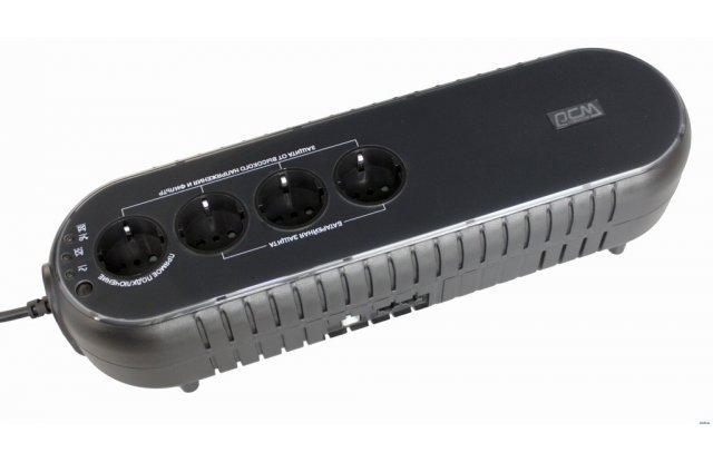 ИБП Powercom WOW 1000U 500Вт 1000ВА черный
