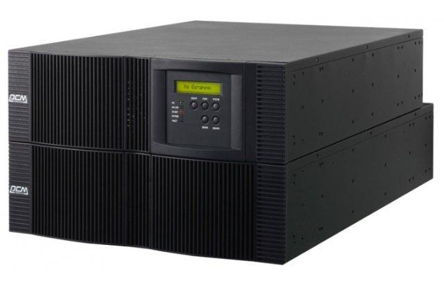 ИБП Powercom Vanguard RM VRT-10K 9000Вт 10000ВА черный